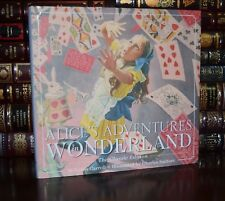 Alice in Wonderland Lewis Carroll Illustrated Santore New Hardcover 2 Day Ship