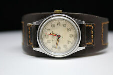 Vintage Bulova ETA 900 MIlitary Mechanical Watch 28mm Nice Patina