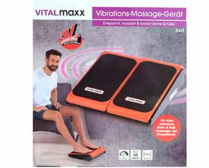 Vibrationstrainer Vibro Massage im Sitzen VITALmaxx Vibrationsplatte Fitness *