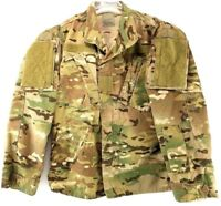 MILITARY MULTICAM BDU Shirt Men's Insect Guard Flame Resistant X-Small X-Short