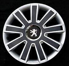 "Set of 4x15"" wheel trims to fit Peugeot 308,Partner"
