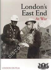 LONDON'S EAST END AT WAR. NEW DVD