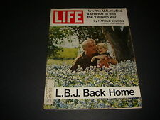 Life Magazine , May 21, 1971 , L.B.J. Back Home , Vietnam War