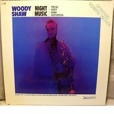WOODY SHAW - NIGHT MUSIC w Bobby Hutcherson - LP NEVER PLAYED