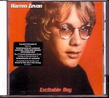 CD (NOUVEAU!) Warren Zevon-excitable BOY (DIG. REM. +4/Werewolves of London mkmbh