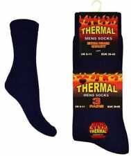 Men's Ultimate Extra Thick Warm Thermal Socks by Aler 3 Pairs UK6-11