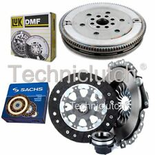 SACHS 3 PART CLUTCH KIT AND LUK DMF FOR BMW 5 SERIES BERLINA 518I