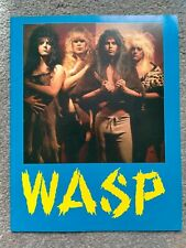More details for w.a.s.p. welcome to the electric circus concert programme 1986