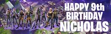 PERSONALIZED FORTNITE BIRTHDAY BANNER 36