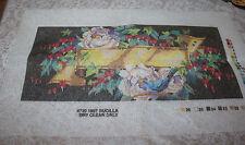 "Vintage Bucilla Floral Rememberance Needlepoint Canvas Loose # 4730 18""x8"""