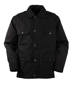 Outback Trading Co. Canvas Jacket - Black - Large