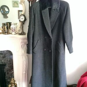 C & A  Yessica  vintage Grey  Coat in excellent condition.Size 12 UK
