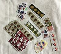 Assorted Lot of Postage Stamps - Used But Not Cancelled