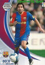 065 DECO BRAZIL FC.BARCELONA TARJETA CARD MEGA CRACKS LIGA 2008 PANINI