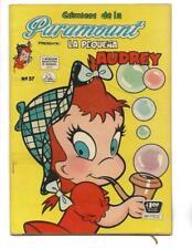 Comicos De La Paramount #37 1956 Spanish Little Audrey Bubble Pipe Cover!