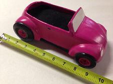 NEW PINK POWERDER PUFF LADIES GIRLS JEWELRY HOLDER VW BEETLE BUG RACE CAR NASCAR