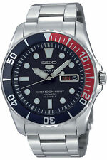 NEW SEIKO SNZF15K1,Men's Sport,AUTOMATIC,SELF WINDING,100m WR,SNZF15