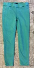 Liverpool Los Angeles Women's Skinny Pants 8  29 Green Ankle Leggings
