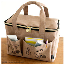 SNOOPY BIG picnic bag BOOK that can be used for multiple from JAPAN