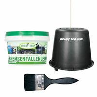 Sticky Trap Bremsenfallenleim mit Eimer & Pinsel - 0,5 L Bremsenfalle Fliegen