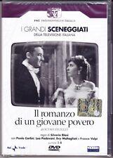 2 Dvd Box Sceneggiati Rai IL ROMANZO DI UN GIOVANE POVERO completa nuovo 1957