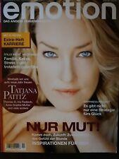 Emotion Zeitschrift Magazin 4x *neuwertig*