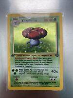 1999 Pokemon  1st Edition Vileplume Holo Jungle 15/64,  PSA??? NM