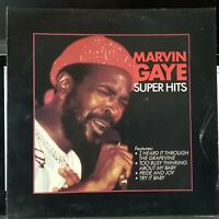 Marvin Gaye -  Super Hits - 1982 NZ pressing LP record excellent, cover G+