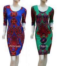 Paisley Hand-wash Only Casual Regular Size Dresses for Women