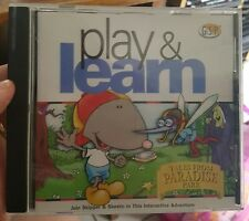 Play & Learn - Tales From Paradise Park  -  PC GAME - FREE POST