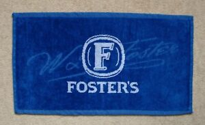 Foster's Lager Beer Bar Towel Pub Home Bar Man Cave New Unused
