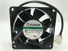 1pcs  SUNON PF70251VX-Q000-S99 7025 12V 3.7W 70 * 25MM 4-wire fan