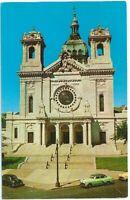 Basilica of St Mary Minneapolis Mn Vintage Postcard Minnesota Chrome