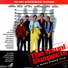 USUAL SUSPECTS ~ LASERDISC ~ DELUXE WIDESCREEN EDITION ~ LVD ~ LASER DISC