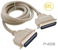 6ft CN36 Centronics Male to Male 36-Conductor Printer Cable, CablesOnline P-4006