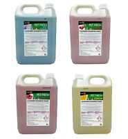 4 x 5 Litres FRESH 365 Pet Disinfectant & Animal Kennel Odour Remover Pet Safe