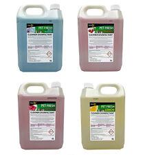 More details for 5l fresh 365 pet disinfectant & animal kennel odour remover dog cat pet safe