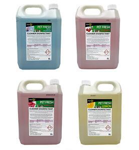 5L FRESH 365 Pet Disinfectant & Animal Kennel Odour Remover Dog Cat Pet Safe