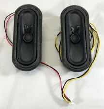 SANYO Speaker Set S0411F19 8Ω 10W For Sanyo TV Model FW50D48F With Wires