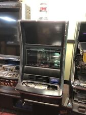 Bally alpha 2 Pro V22/22 Curve Slot Machine Cabinet With Out Cpu & I Deck Panel.