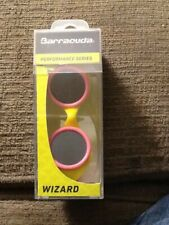 NEW Barracuda Childrens ages 5-10 Wizard Swim Goggles Smoke/Pink/Yellow anti-fog