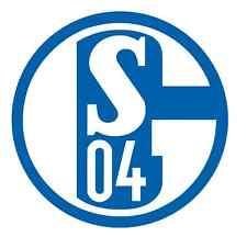 AUTOAUFKLEBER AUTO AUFKLEBER FC SCHALKE 04 RUND 9,5 CM BLAU WEISS KÖNIGSBLAU NEU