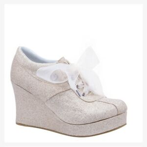 Grezzo Model 2000 Wedge Platform Fashion Bridal and Gala Women Shoes