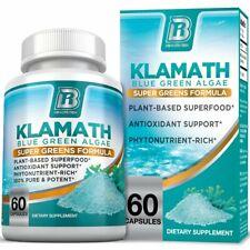 Pastillas Klamath Blue Green Algae es Más Efectivo que la Spirulina o Chlorella