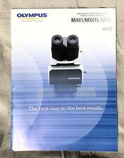 Olympus MX610 MX61L MX51 BX2M Microscope Brochure