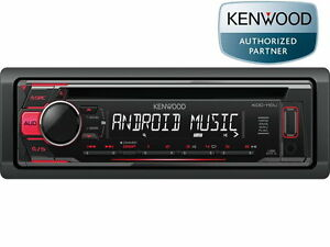 Kenwood KDC110UR USB CD Mp3 Radio RDS Rojo Android Control