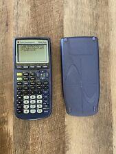 Texas Instruments TI-83 Plus Edition Graphing Calculator Blue Transparent Case