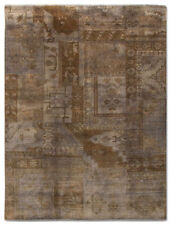 Vintage/Retro Living Room Hand-Knotted Rugs