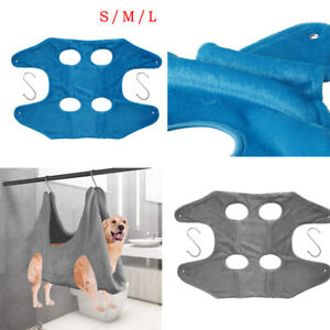 Pet Hammock Helper Dog Cat Grooming Restraint Bag Tools for Bath Nail Trimming