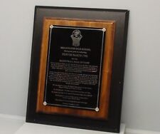 Authentic Clearwater High School Pervis Pasco Hall of Fame Plaque